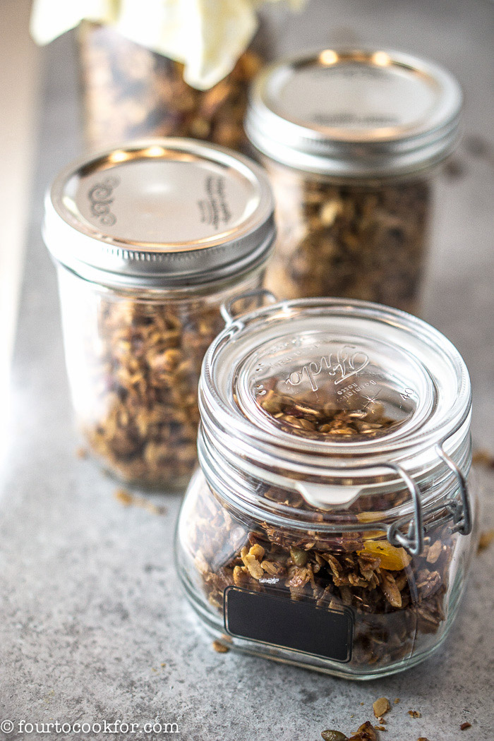 how to cook granola at home