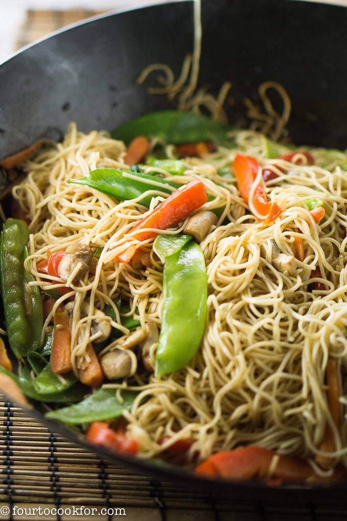 Easy Lo Mein Noodles Four To Cook For