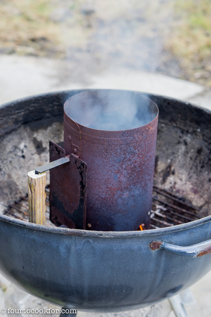 how to cook rice on a charcoal grill